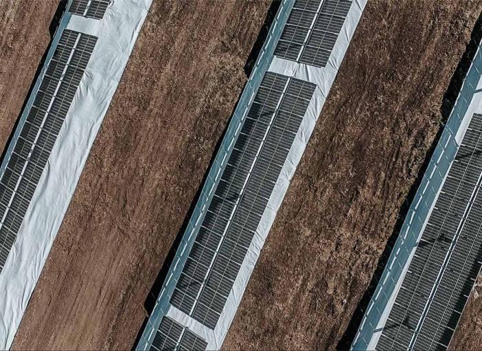 New generation SoliTek 2MW solar plant (glass-glass / bifacial / tracking)