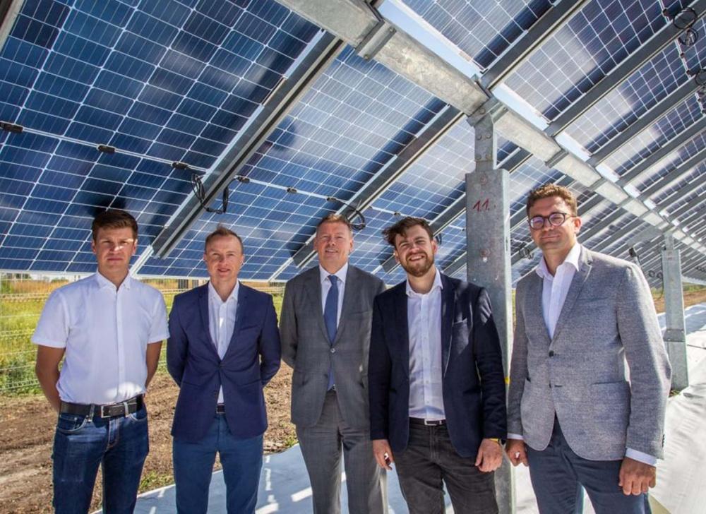 SoliTek opens most advanced 2MW bifacial solar plant in Europe